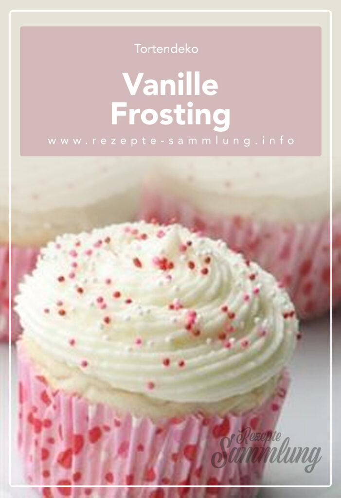 Vanille Frosting